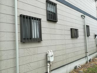 藻が発生した外壁