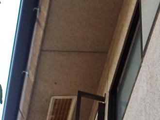 座間市 外壁塗装 外壁の点検 軒天の汚れ