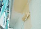 外壁塗装 下塗り中