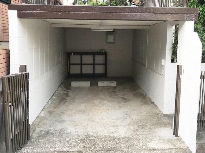 車庫のリフォーム完成