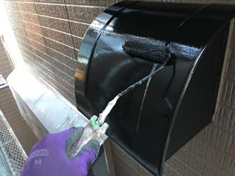 換気扇フードの塗装