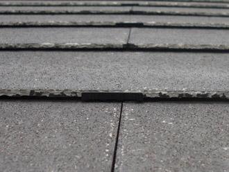 厚木市 屋根塗装 タスペーサー設置